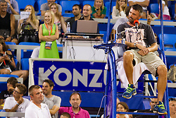 Goran Ivanisevic during exhibition match at 26. Konzum Croatia Open Umag 2015, on July 22, 2015, in Umag, Croatia. Photo by Urban Urbanc / Sportida