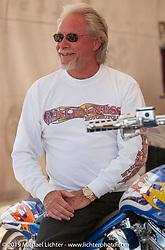Arlen Ness during Sturgis Bike Week. Sturgis, SD. Photography ©2002 Michael Lichter.