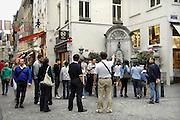 Belgie, Brussel, 28-7-2011Manneken pis, manneke pis. plasprobleem, blaas, urologie.Foto: Flip Franssen/Hollandse Hoogte
