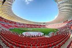 Vista do Estádio do Beira-Rio antes da partida entre Internacional e Caxias, pela 8ª rodada do Campeonato Gaúcho, no primeiro evento-teste da arena após as reformas para a Copa do Mundo. FOTO: Jefferson Bernardes/ Agência Preview