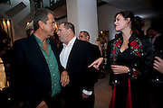MARIO TESTINO; HARVEY WEINSTEIN; JASMINE GUINNESS, Afterparty for Burberry  Spring/Summer 2010 Show. Horseferry House. Horseferry Rd. London sW1.  London Fashion Week.  22 September 2009.