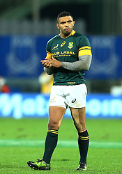 November 19, 2016 - Rome, Italy - The delusion of Bryan Habana (S) at the end of the match  during the international match between Italy v South Africa at Stadio Olimpico on November 19, 2016 in Rome, Italy. (Credit Image: © Matteo Ciambelli/NurPhoto via ZUMA Press)