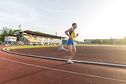 Simon Navodnik competes during day 1 of Slovenian Athletics Cup 2019, on June 15, 2019 in Celje, Slovenia. Photo by Peter Kastelic / Sportida