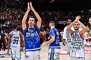 Giacomo Devecchi, Marco Spissu<br /> A|X Armani Exchange Olimpia Milano - Banco di Sardegna Dinamo Sassari<br /> Legabasket LBA Serie A 2019-2020<br /> Sassari, 16/11/2019<br /> Foto L.Canu / Ciamillo-Castoria