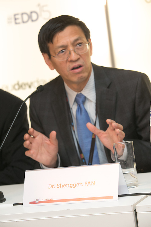 03 June 2015 - Belgium - Brussels - European Development Days - EDD - Food - Small-scale farming and sustainable food systems - Dr Shenggen Fan<br /> Director General, International Food Policy Research Institute © European Union