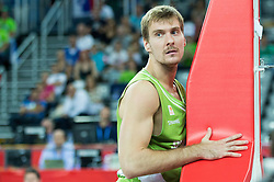 Zoran Dragic of Slovenia during basketball match between Slovenia and Georgia at Day 2 in Group C of FIBA Europe Eurobasket 2015, on September 6, 2015, in Arena Zagreb, Croatia. Photo by Vid Ponikvar / Sportida
