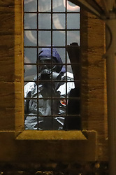 © Licensed to London News Pictures. 06/03/2018. Salisbury, UK. Police in protective suits and gas masks are seen inside The Mill pub in Salisbury, Wiltshire, where former Russian spy Sergei Skripal and his daughter visited before becoming ill with suspected poisoning. The couple where found unconscious on bench in Salisbury shopping centre. Specialist units have been called in to deal with any possible contamination. Photo credit: Peter Macdiarmid/LNP