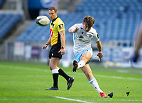 Rugby Union - 2021 Guinness Pro14 Rainbow Cup - Northern Group - Edinburgh vs Glasgow Warriors - Murrayfield<br /> <br /> Ross Thompson of Glasgow Warriors converts a conversion to make it 31-17<br /> <br /> Credit : COLORSPORT/BRUCE WHITE