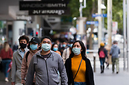 Locals are seen out and about during the COVID-19 in Melbourne. With over a week of zero cases in Victoria, Premier Daniel Andrews is expected to make major announcements on Sunday about further easing of restrictions. (Photo by Dave Hewison/Speed Media)