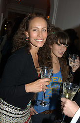 ANDREA DELLAL and her daughter CHARLOTTE DELLAL at a party to celebrate the opening of Jasper Conran's new shop and HQ at 36 Sackville Street, London W1 on 15th February 2005.<br /><br />NON EXCLUSIVE - WORLD RIGHTS