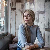 Nederland, Amsterdam, 26 januari 2015.<br />Daria Bucvic, theatermaker, regisseur.<br /><br /><br /><br />Foto: Jean-Pierre Jans