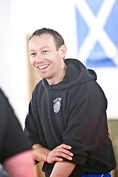 IKMS welcomed World Champion Muay Thai Fighter Michael Dicks and Prodefence Krav Maga instructor Neil Walton to Glasgow for a striking Master Class at the Battlefield Gym, 40 Broomielaw, Glasgow..Pic ©2011 Michael Schofield. All Rights Reserved..