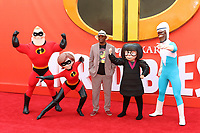 Samuel L. Jackson, Incredibles 2 - UK Premiere, BFI Southbank, London, UK, 08 July 2018, Photo by Richard Goldschmidt