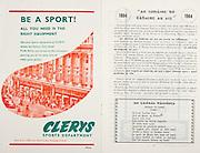 All Ireland Senior Hurling Championship Final,.06.09.1964, 09.06.1964, 6th September 1964,.Minor Cork v Laois, .Senior Kilkenny v Tipperary, Tipperary 5-13 Kilkenny 2-08,..Clerys sports department,
