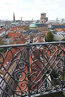 Copenhagen City views from The Round Tower, General Views of Copenhagen, Denmark, 07 October 2019, Photo by Richard Goldschmidt