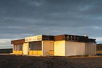 """""""Búðin milli sanda"""" old store by Fagurhólmsmýri in Öræfi, Southeast Iceland."""