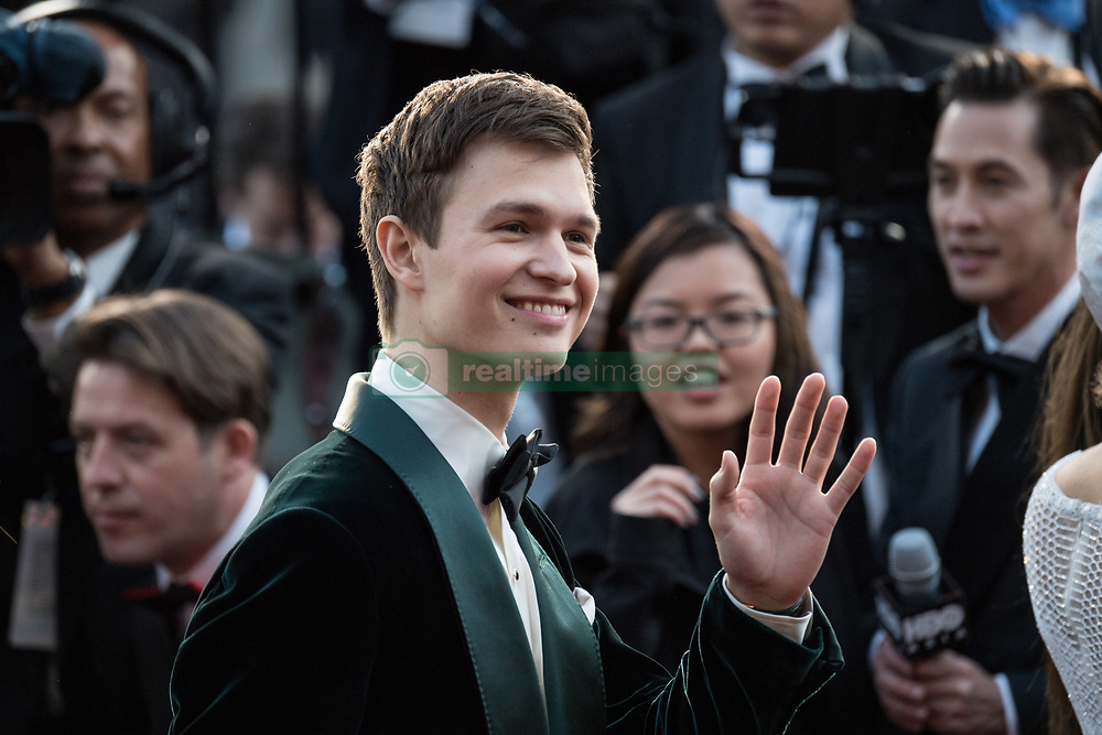 March 4, 2018 - Hollywood, California, U.S. - ANSEL ELGORT arrives on the red carpet of The 90th Oscars at the Dolby Theatre in Hollywood. (Credit Image: © Scott Diussa/AMPAS via ZUMA Wire/ZUMAPRESS.com)