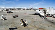 Scene from the Salt Lake City Airport, Salt Lake City, Utah