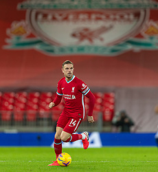 LIVERPOOL, ENGLAND - Sunday, December 27, 2020: Liverpool's captain Jordan Henderson during the FA Premier League match between Liverpool FC and West Bromwich Albion FC at Anfield. The game ended in a 1-1 draw. (Pic by David Rawcliffe/Propaganda)