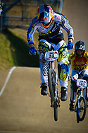 #24 (SHARRAH Corben) USA during the practice session at the 2012 UCI BMX Supercross World Cup in Abbotsford, Canada