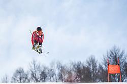 February 15, 2018 - Jeongseon, Gangwon, South Korea - Broderick Thompson of Canada competing in mens downhill at Jeongseon Alpine Centre at Jeongseon , South Korea on February 15, 2018. (Credit Image: © Ulrik Pedersen/NurPhoto via ZUMA Press)