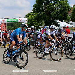 GSTAAD (SUI) CYCLING<br /> Tour de Suisse stage 4<br /> Start stage 4