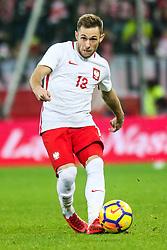 November 13, 2017 - Gdansk, Poland - Maciej Rybus (POL) during the International Friendly match between Poland and Mexico at Energa Stadium in Gdansk, Poland on November 13, 2017. (Credit Image: © Foto Olimpik/NurPhoto via ZUMA Press)