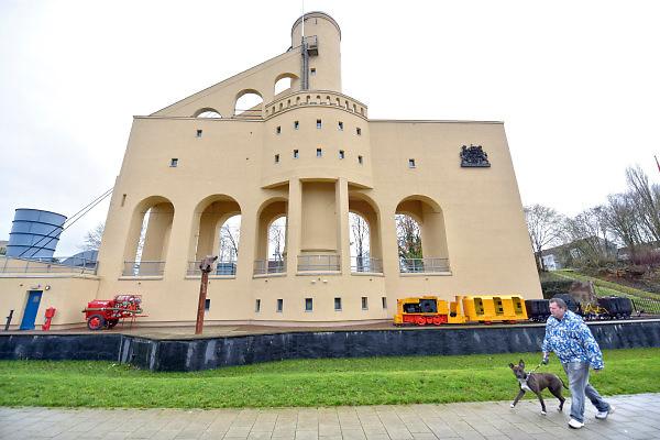 Nederland, Kerkrade, 2-2-2018Het mijnmonument Schacht Nuland .Foto: Flip Franssen