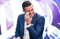 Koke Resurrecccion of Atletico de Madrid  during the act of renewal of the contract until 2024 of Koke Resurrecccion  at Vicente Calderon stadium in Madrid, Spain. May 23, 2017. (ALTERPHOTOS/Rodrigo Jimenez)