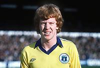 Gary Megson (Everton) Crystal Palace v Everton  23/2/80 1979 / 80 Season Credit : Colorsport
