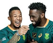 Springboks 2021 profile shots