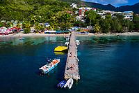France, Martinique, Grande Anse d'Arlet // France, West Indies, Martinique, Grande Anse d'Arlet