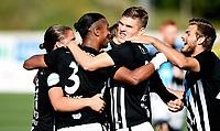 Fotball , 2. september 2017 , 2. divisjon herrer , PostNord-ligaen<br /> Asker - Alta<br /> Knut Ahlander  , Asker<br /> Demba Traore Souleymane 3 , Asker og Stian Solberg (th) , Asker