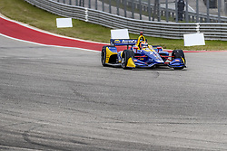 March 23, 2019 - Austin, Texas, U.S. - ALEXANDER ROSSI (27) of the United States goes through the turns during practice for the INDYCAR Classic at Circuit Of The Americas in Austin, Texas. (Credit Image: © Walter G Arce Sr Asp Inc/ASP)