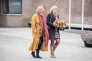 Uitvaart Mies Bouwman in een crematorium in Leusden.