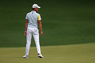Danny Willett (ENG) on the 2nd green during the 1st round at the The Masters , Augusta National, Augusta, Georgia, USA. 11/04/2019.<br /> Picture Fran Caffrey / Golffile.ie<br /> <br /> All photo usage must carry mandatory copyright credit (© Golffile | Fran Caffrey)