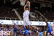 DESCRIZIONE : Trento Lega A 2014-15 Playoff Quarti di Finale Gara 1 Dolomiti Energia Trento Banco di Sardegna Sassari<br /> GIOCATORE : Josh Owens<br /> CATEGORIA : schiacciata sequenza<br /> SQUADRA : Dolomiti Energia Trento<br /> EVENTO : Lega A 2014-2015 Playoff Quarti di Finale Gara 1<br /> GARA : Dolomiti Energia Trento Banco di Sardegna Sassari<br /> DATA : 18/05/2015<br /> SPORT : Pallacanestro<br /> AUTORE : Agenzia Ciamillo-Castoria/M.Marchi<br /> Galleria : Lega Basket A 2014-2015 <br /> Fotonotizia: Trento Lega A 2014-15 Playoff Quarti di Finale Gara 1 Dolomiti Energia Trento Banco di Sardegna Sassari