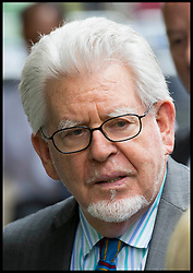 Image ©Licensed to i-Images Picture Agency. 30/06/2014. London, United Kingdom. Rolf Harris guilty of sex assaults leaves Southwark Crown Court with his wife and daughter (right) Picture by i-Images