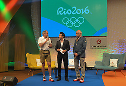 17.07.2016, Aula der Wissenschaften, Wien, AUT, Olympia, Rio 2016, Einkleidung OeOC, im Bild Farewell Feier Aula der Wissenschaften // during the outfitting of the Austrian National Olympic Committee for Rio 2016 at the Aula der Wissenschaften in Wien, Austria on 2016/07/17. EXPA Pictures © 2016, PhotoCredit: EXPA/ Erich Spiess
