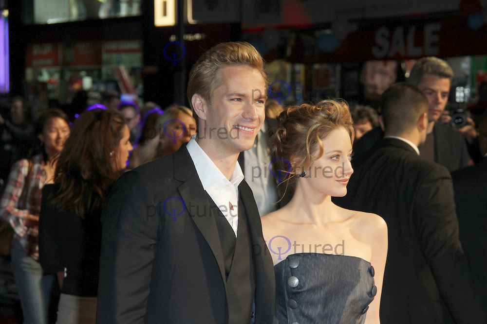 James D'Arcy; Andrea Riseborough W.E. premiere at the The 55th BFI London Film Festival; Empire Cinema, Leicester Square, London, UK. 23 October 2011.  Contact: Rich@Piqtured.com +44(0)7941 079620 (Picture by Richard Goldschmidt)