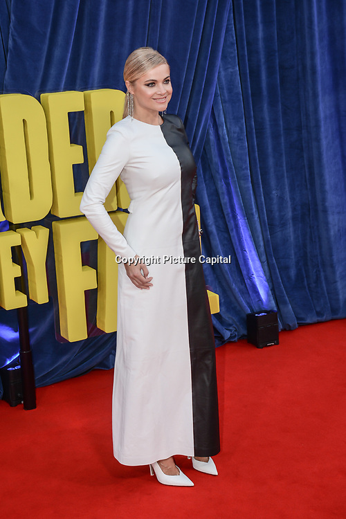 """Eva Lankas attended """"The Harder They Fall"""" Opening Night Gala - 65th BFI London Film Festival, Southbank Centre, London, UK. 6 October 2021."""