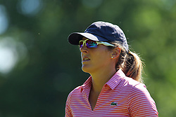 June 14, 2018 - Belmont, Michigan, United States - Celine Herbin of Avranches, France walks to the 8th tee during the first round of the Meijer LPGA Classic golf tournament at Blythefield Country Club in Belmont, MI, USA  Thursday, June 14, 2018. (Credit Image: © Amy Lemus/NurPhoto via ZUMA Press)