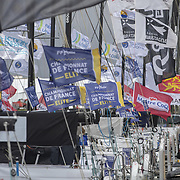 Epreuve du Championnat de France Élite de course au large, en solitaire, de la Classe Figaro Bénéteau à Ville des Sables d'Olonne organisée par Les Sables d'Olonne Vendée Course au Large