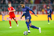 Tottenham Hotspur midfielder Ryan Sessegnon (19) on the ball during the Champions League match between Bayern Munich and Tottenham Hotspur at Allianz Arena, Munich, Germany on 11 December 2019.