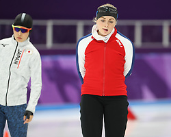 February 18, 2018 - Gangneung, South Korea -  HEGE BOKKO of Norway during Speed Skating: Ladies' 500m at Gangneung Oval at the 2018 Pyeongchang Winter Olympic Games. (Credit Image: © Scott Mc Kiernan via ZUMA Wire)