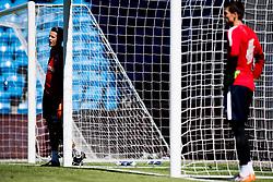 June 5, 2018 - Oslo, NORWAY - 180605 Goalkeeper Ørjan Nyland and goalkeeper Rune Almenning Jarstein of Norway during a training session on June 5, 2018 in Oslo..Photo: Jon Olav Nesvold / BILDBYRÃ…N / kod JE / 160267 (Credit Image: © Jon Olav Nesvold/Bildbyran via ZUMA Press)