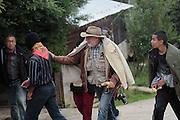 Oventik, Chiapas, 16 de septiembre de 2011.<br /> Caravana al Sur, 2011. Movimiento por la Paz con Justicia y Dignidad. (Foto: Prometeo Lucero)