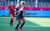 ANTWERPEN - Maria Verschoor (Ned)  tijdens hockeywedstrijd  vrouwen, Nederland-Rusland ,  bij het Europees kampioenschap hockey. COPYRIGHT KOEN SUYK