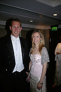Rev and Mrs. William van der Hart, The Royal Caledonian Ball 2007. Grosvenor House. 4 May 2007.  -DO NOT ARCHIVE-© Copyright Photograph by Dafydd Jones. 248 Clapham Rd. London SW9 0PZ. Tel 0207 820 0771. www.dafjones.com.