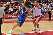 Danzica - Polonia 03 Agosto 2012 - TORNEO INTERNAZIONALE SOPOT CUP - Italia Lettonia<br /> Nella Foto : MARCO CUSIN<br /> Foto Ciamillo